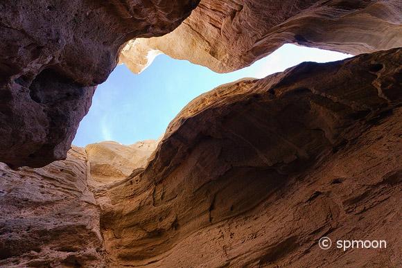 Slot Canyon, Kasha-Katuwe Tent Rocks National Monument, NM