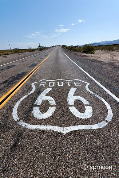 Road sign near Essex, CA