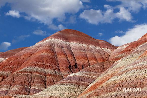 Colorful Mountains in Paria River Valley, Grand Staircase-Escalante National Monument, Utah