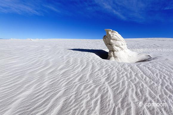 Gypsum Pinnacle, White Sands National Monument