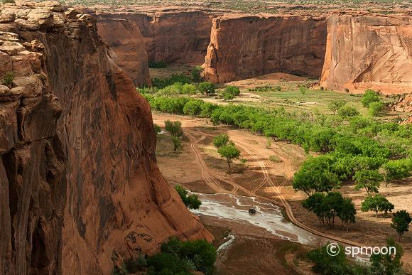 Valley Floor, Canyon de Chelly