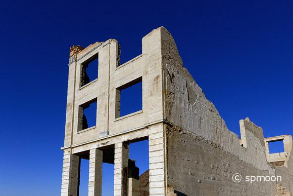 Old Bank Building, Rhyolite Ghost Town, Nevada.