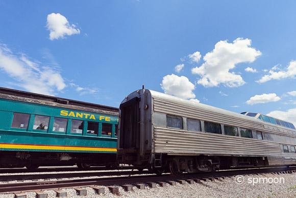 Train at Santa Fe Station