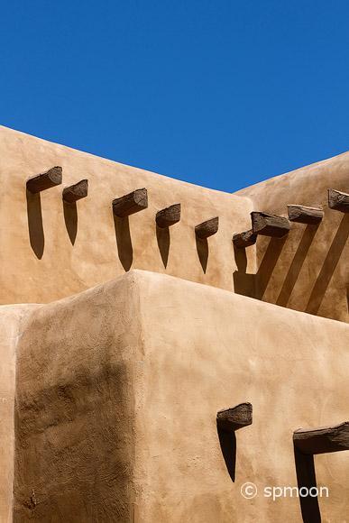 Southwestern Adobe House
