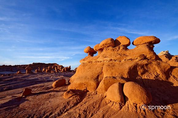 Goblin Valley State Park at Sunset, UT