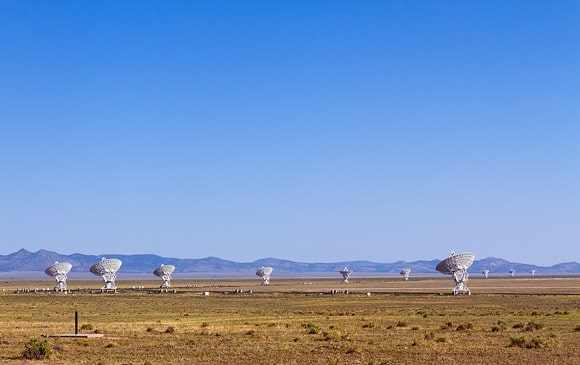 Very Large Array near Socorro, New Mexico