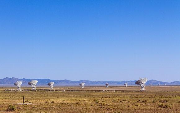 Very Large Array near Socorro, New Mexico