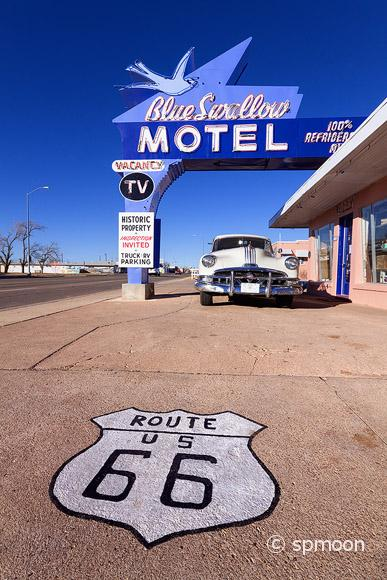 Historic Motel on Old Route 66, Tucumcari, NM
