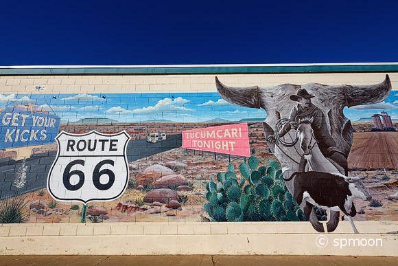 Mural on Route 66