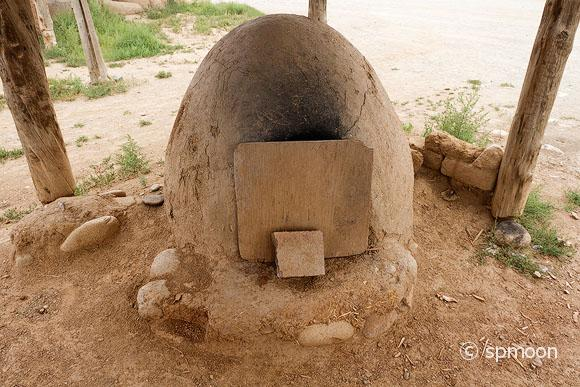Native American Bread Oven