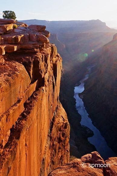 Toroweap point at sunrise, Grand Canyon National Park, AZ
