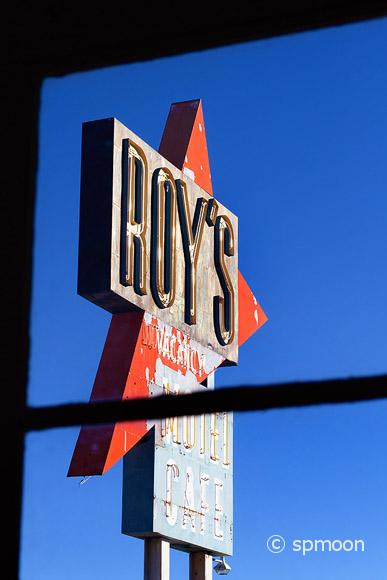 Roy's Cafe, Amboy, CA
