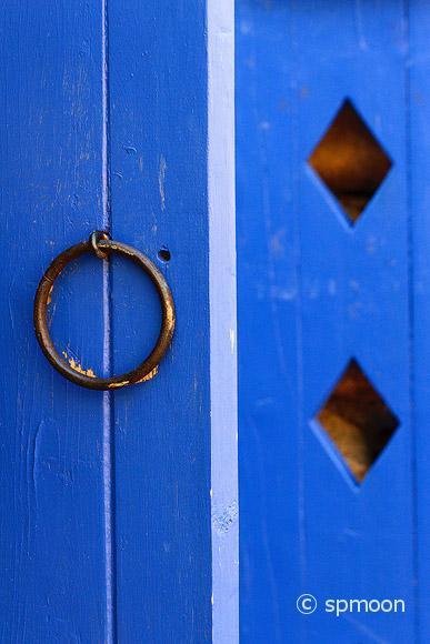Santa Fe Door Close-up