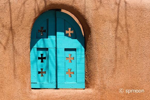 Southwestern Blue Window