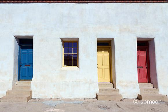 Colorful Doors in Tucson