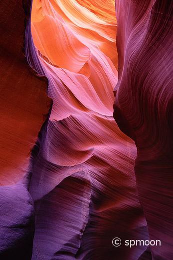 Lower Antelopw Canyon near Page, Arizona