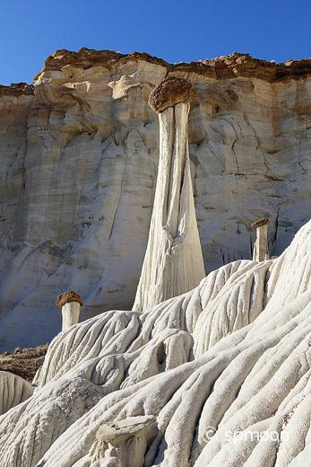 Tower of Silence, Wahweap Hoodoos, Grand Stairecase-Escalante National Monument, Utah