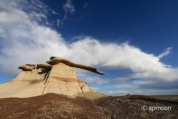 King of Wings rock formation, Ah-Shi-Sle-Pah Wilderness, New Mexico
