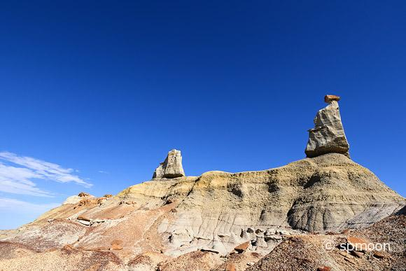 Hoodoos at Bisti Wilderness, New Mexico