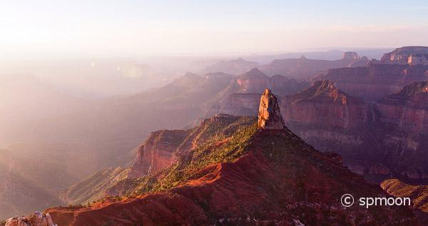 Point Imperial at Sunrise, North Rim of Grand Canyon National Park, AZ