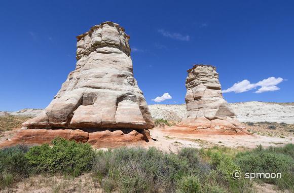 Elephant Feet Rock Formation near Tonolea, Arizona