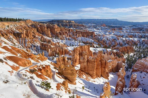 Winter Landscape at Bryce Canyon National Park